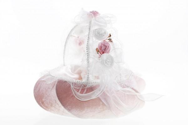 Bayimpex düğün çiçek sepeti Agnes Pembe 2 adet