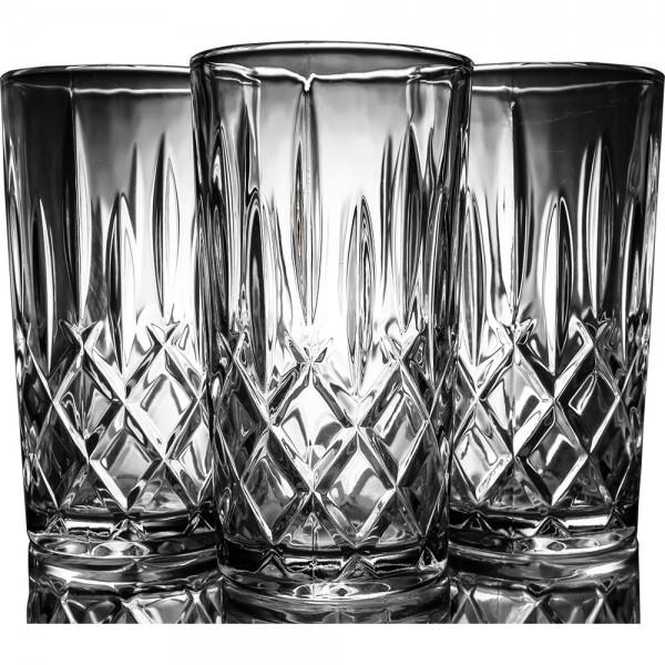 Bavary | Wasserglas | Trinkglas | Fine Glas Cup Set | 12 Teilig | Transparent | Blu-by-w5409