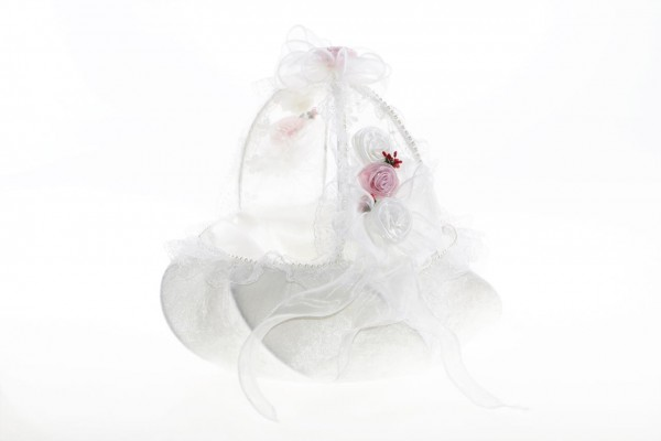 Bayimpex düğün çiçek sepeti Joey 2 adet