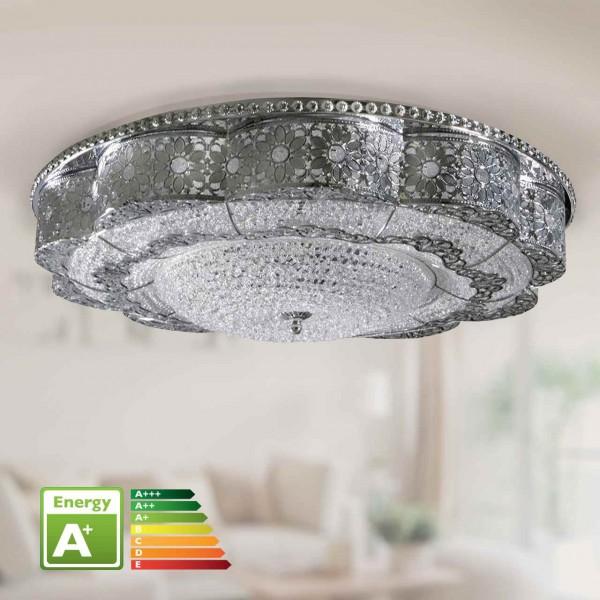 Bavary LED-Deckenleuchte Ø 58cm Chrome | BY2106-58O