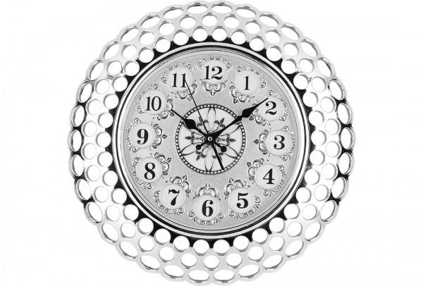 Bavary Modern Duvar Saati | Gümüş | By-d308j
