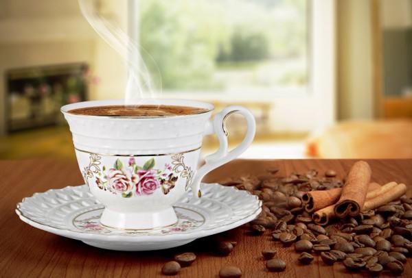 Bavary 6'lı Fine Porselen Kahve Fincan Seti 12 Parça | HYC340L