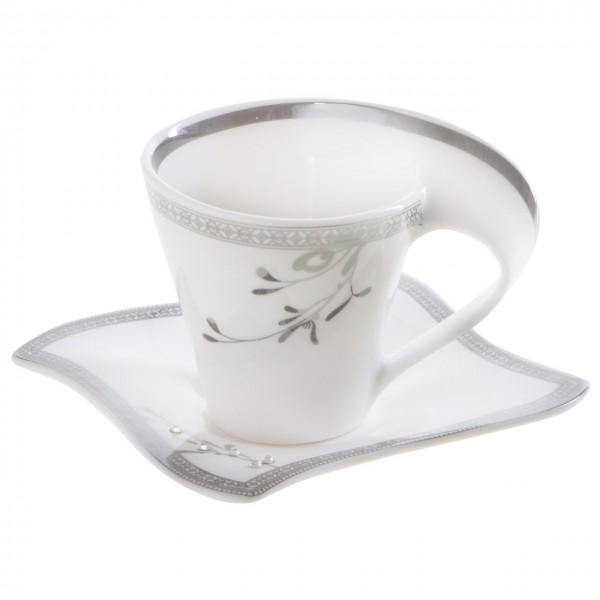 Bavary 6'lı Kahve Fincan Seti Porselen 12 Parça | Hyc301lcs