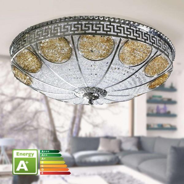 Bavary LED-Deckenleuchte Ø 48cm Chrome | 2015-44-A48G
