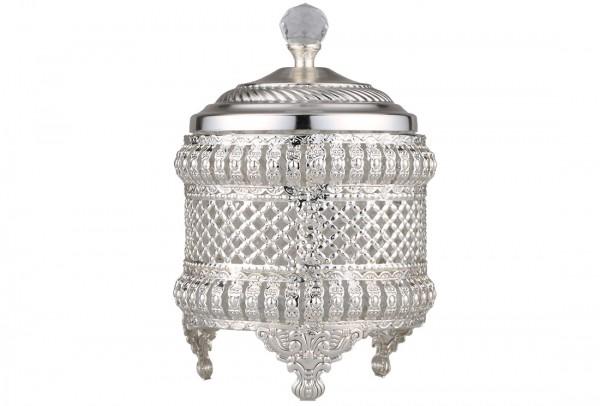 Bavary Lüks Şekerlik | Gümüş | By-wh-1670-s