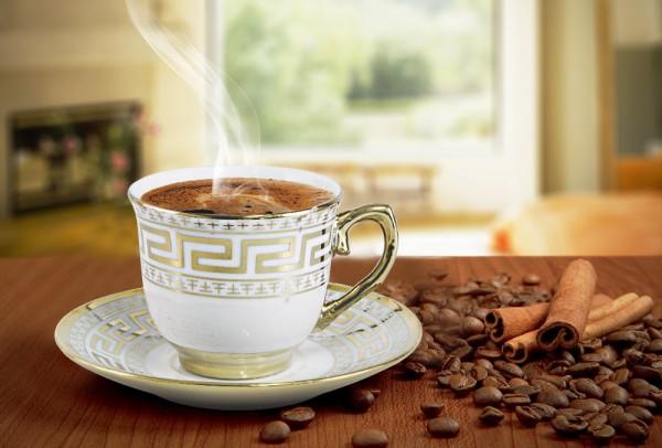Bavary 6'lı Türk Kahve Seti 12 Parça Altın İşlemeli