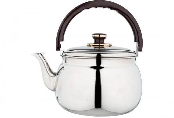 Bavary Teekanne Pfeifen Wasserkocher | 7 Liter | Edelstahl
