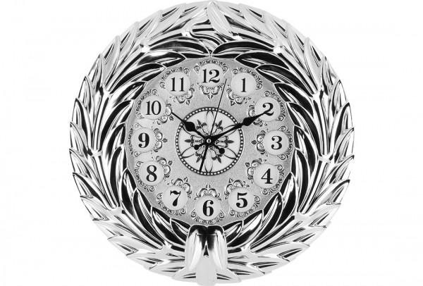 Bavary Modern Duvar Saati | Gümüş | By-d319j