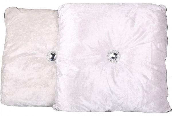 Dekonaz Dekoratif Yastık 48x44cm | Beyaz | By-sr9913