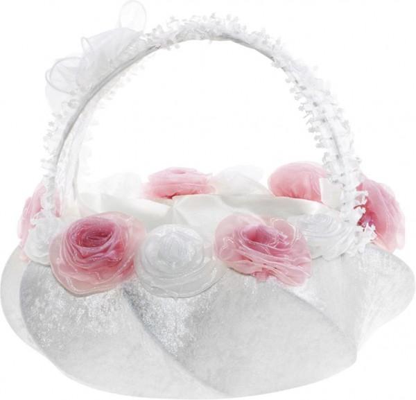 Bavary Rosalinda Düğün Çiçek Sepeti | BK-001