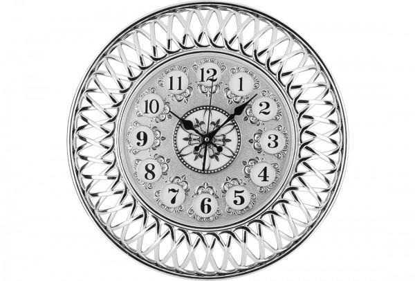 Bavary Modern Duvar Saati | Gümüş | By-d318j