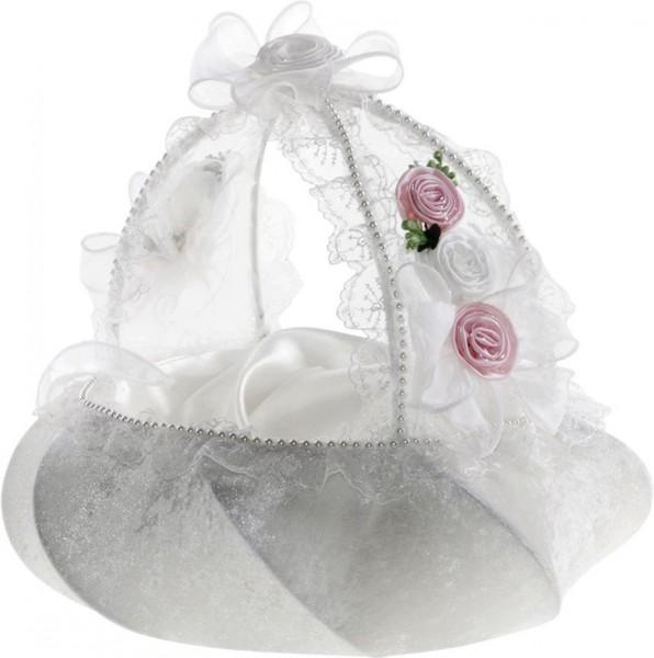 Bayimpex düğün çiçek sepeti Estella 2 adet