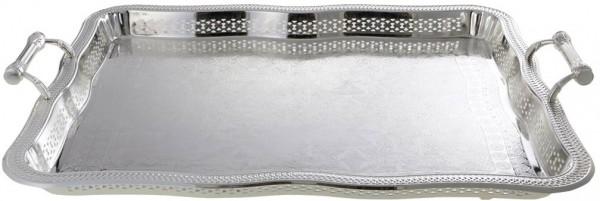 Bavary | Servierplatte | Silber | Aus Metall | 407-1