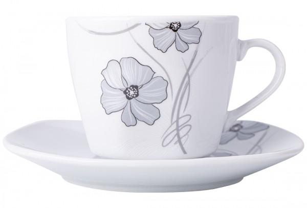 Bavary 6'lı Büyük Kahve Fincan Seti Porselen 12 Parça | A13411-xl