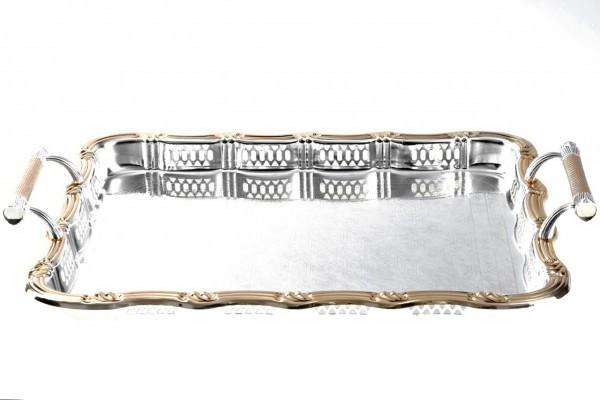 Bavary Serviertablett Goldy Elegance 44cm x 35cm x 3,5cm