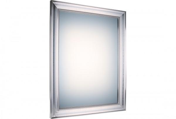 Bavary Dekoratif Lüx Ayna 50x70 cm | Gümüş | By-k5502b