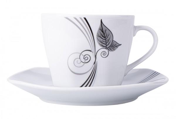 Bavary 6'lı Büyük Kahve Fincan Seti Porselen 12 Parça | A12650-xl