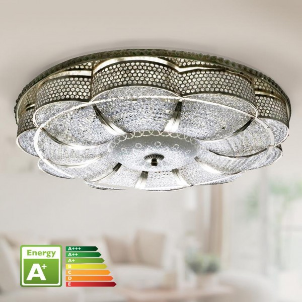 Bayimpex LED-Deckenleuchte Ø 58cm Gold