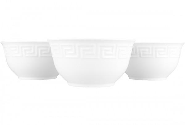 Bavary Porselen Çorba Kasesi | 12 Parça | Beyaz | By-gd365-570-2
