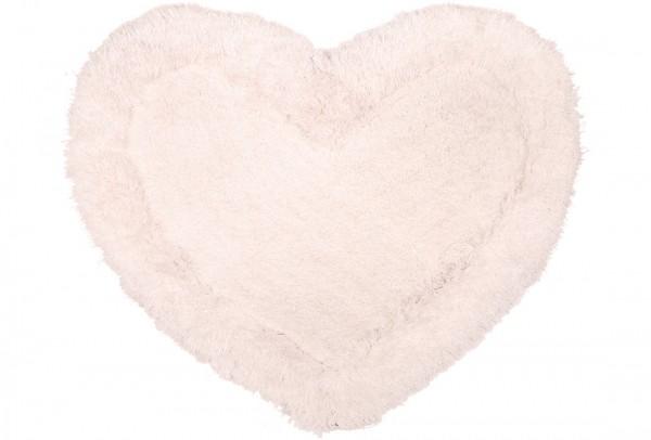 Bavary Banyo ve Kapı Önü Paspası | Kalp Şekilli | by-Heart-Cream