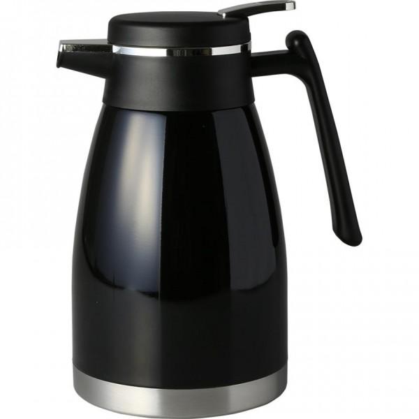 Bavary 1.5L Modern Tasarım Orta Boy Termos 18/10 Çelik | Siyah