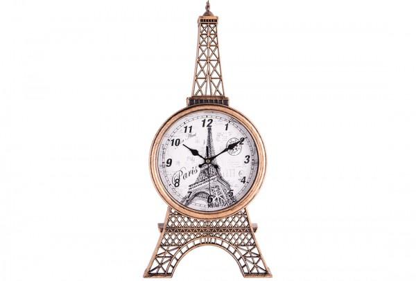Bavary | Paris Eifelturm | Wanduhr | Hausdeko | Gold Schwarz | By-neh3033-2