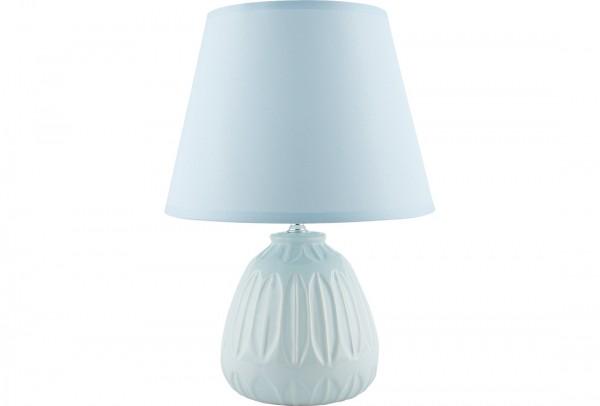 Bavary | Nachtlichtlampe | Tischlampe | 36,5 cm | Porzellan | Blau | By-TD-82575-blau